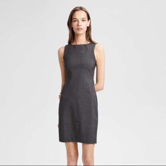 a85cdc83ce3 Theory Dresses   Betty 2b Edition Grey Dress Size 8   Poshmark